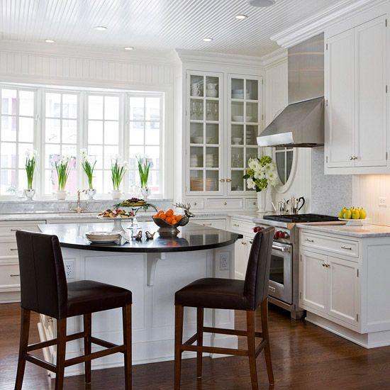 Ideas prácticas para tener un comedor en la cocina | Cocina ...