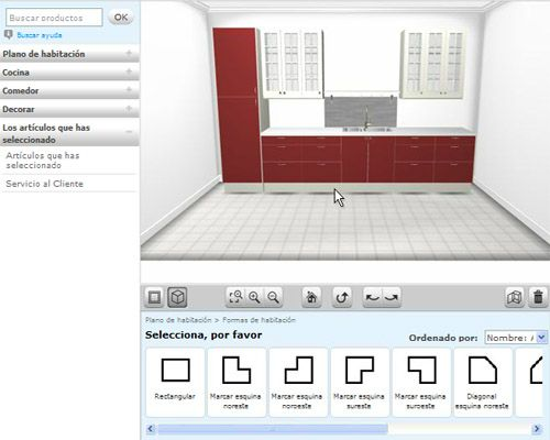 Software para dise o de cocinas ikea home planner for Software cocinas 3d