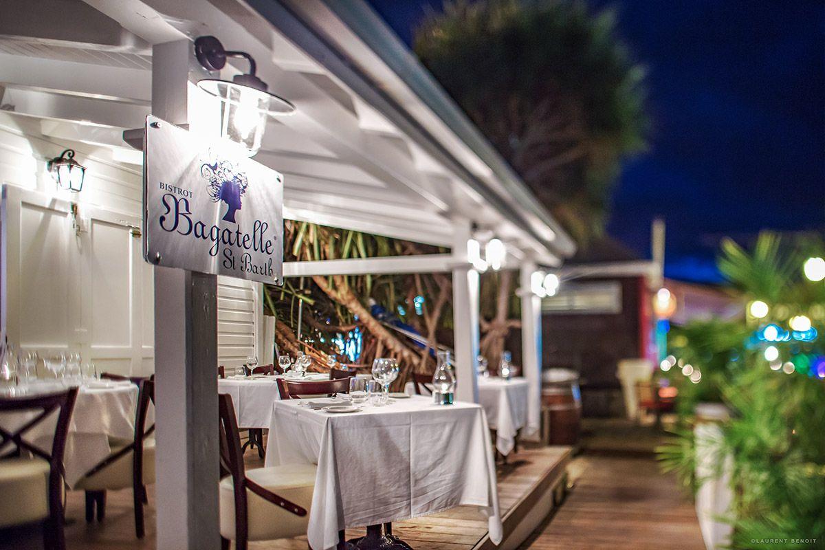 bagatelle restaurant - one st barts villa rental | | craves