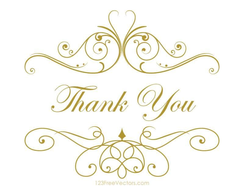 Thank You Clipart Free Free Clip Art Thank You Card Template Clip Art