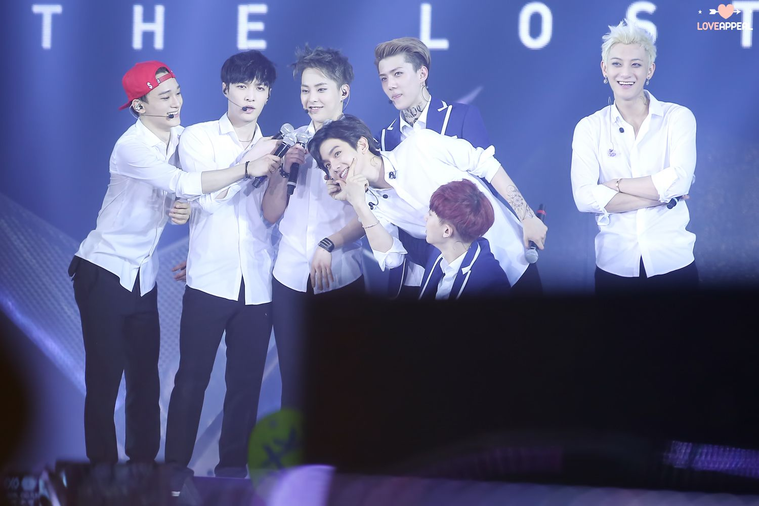 140601 EXO The Lost Planet in Hongkong - Chen, Lay, Xiumin, Baekhyun, Sehun, Chanyeol, Tao
