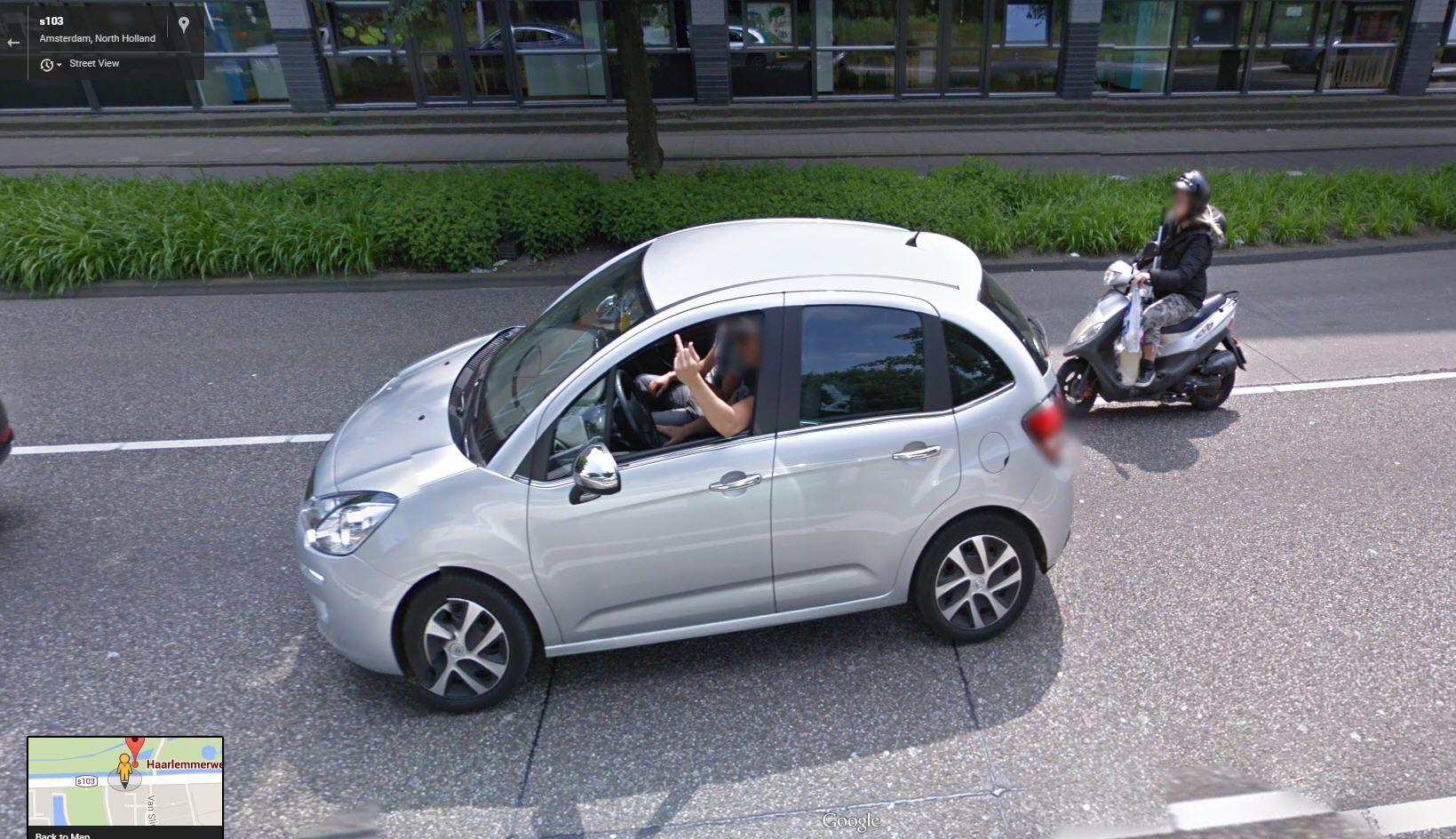 Good morning Google Street View Amsterdam