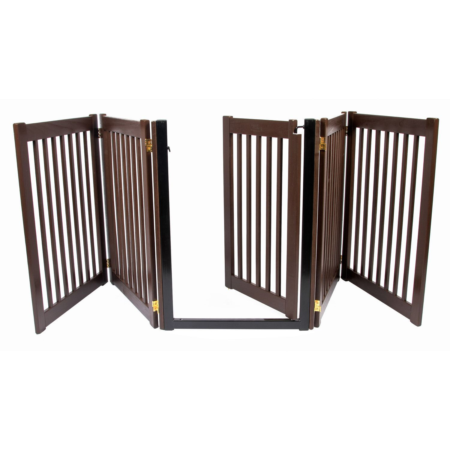 Amish Handcrafted 5 Panel Accordion Pet Gate In 2019 Pet