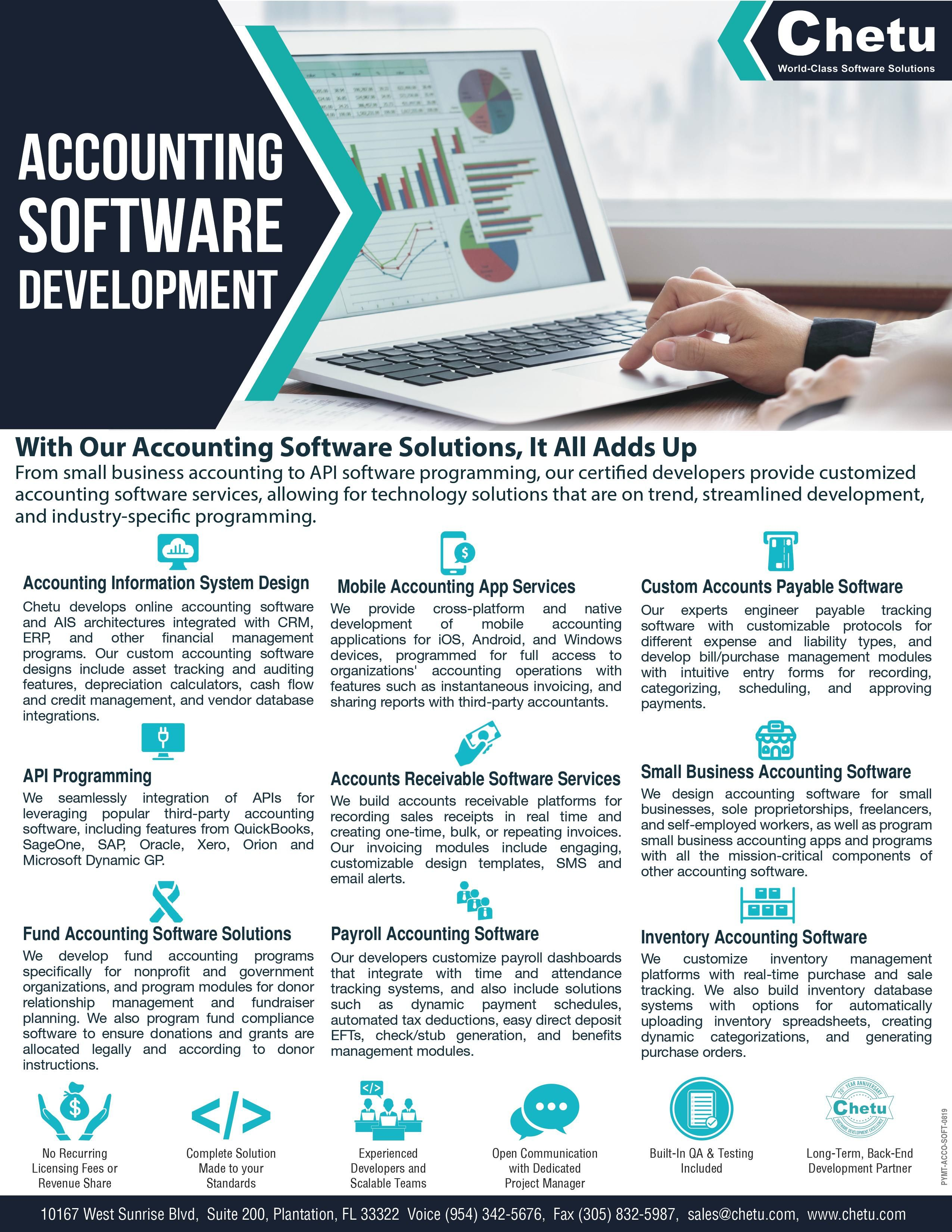 Accounting Software Development Software Development Accounting Software Accounting