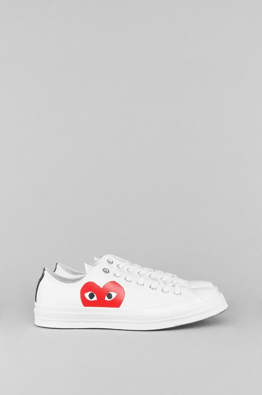 c66ce26a36b1 New York-based graphic artist Filip Pagowski and Japanese designer Rei  Kawakubo of Comme des Garçons collaborated once again with Converse to  recreate a ...