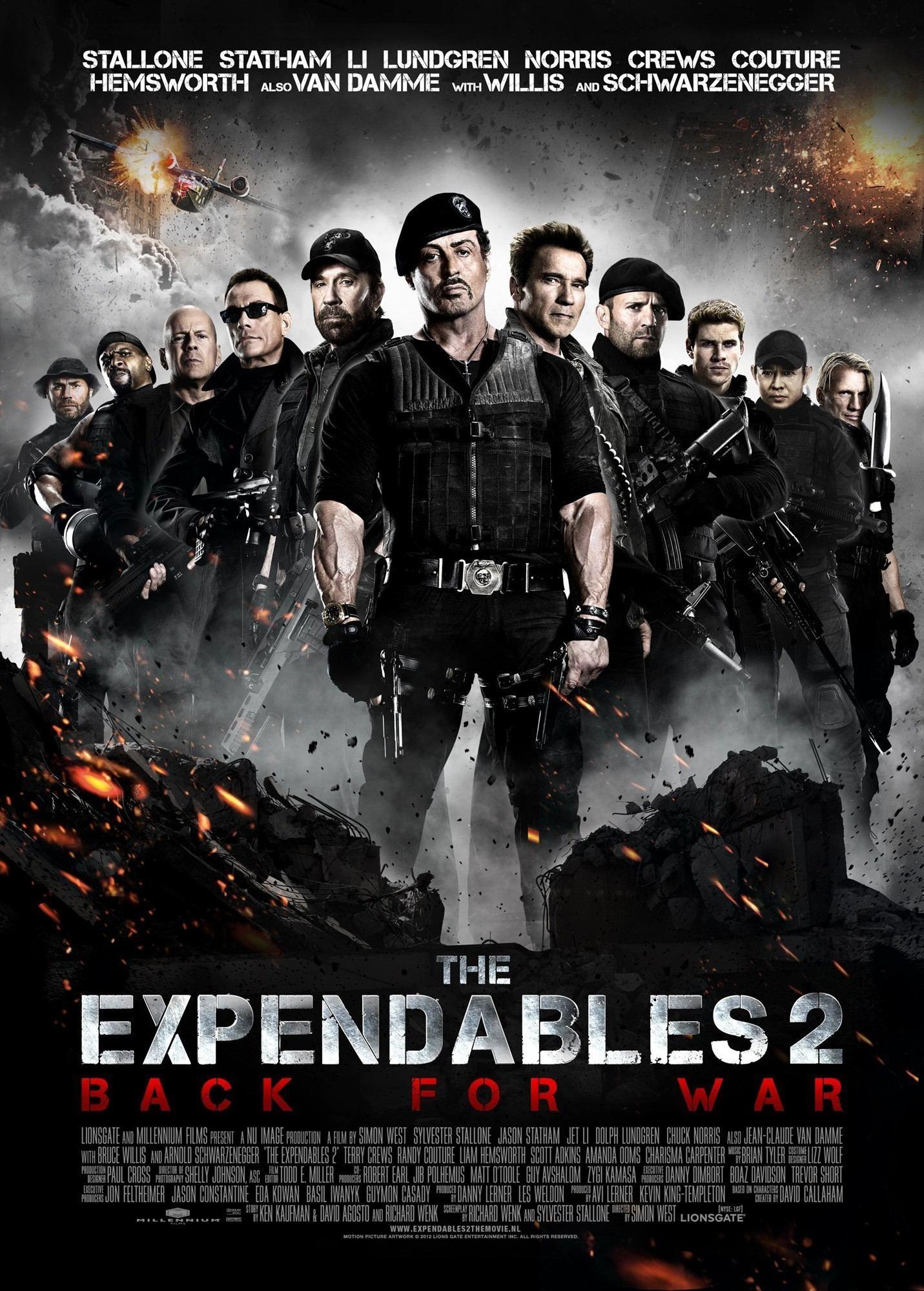 The Expendables 2 2012 Mercenarios 2 Filmes Filmes Epicos