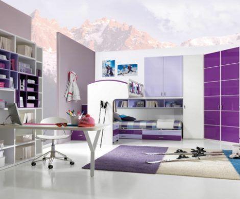 Kinderzimmergestaltung Ideen für die Raumaufteilung im