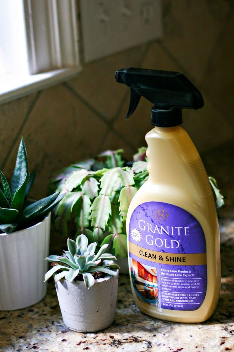 Granite Gold Clean Shine Best Cleaner Polish In One Forumula Granitetilecountertops Granite In 2020 How To Clean Granite Cleaning Granite Countertops Cleaning
