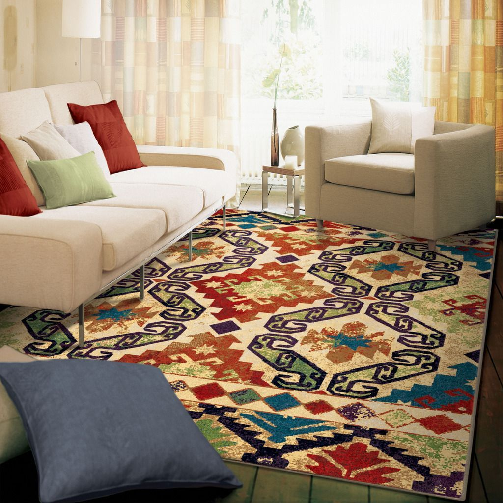 Our Geo Tribal Vision Area Rug Showcases Designs Inspired By Southwestern  Tribes Enhanced In A Unique