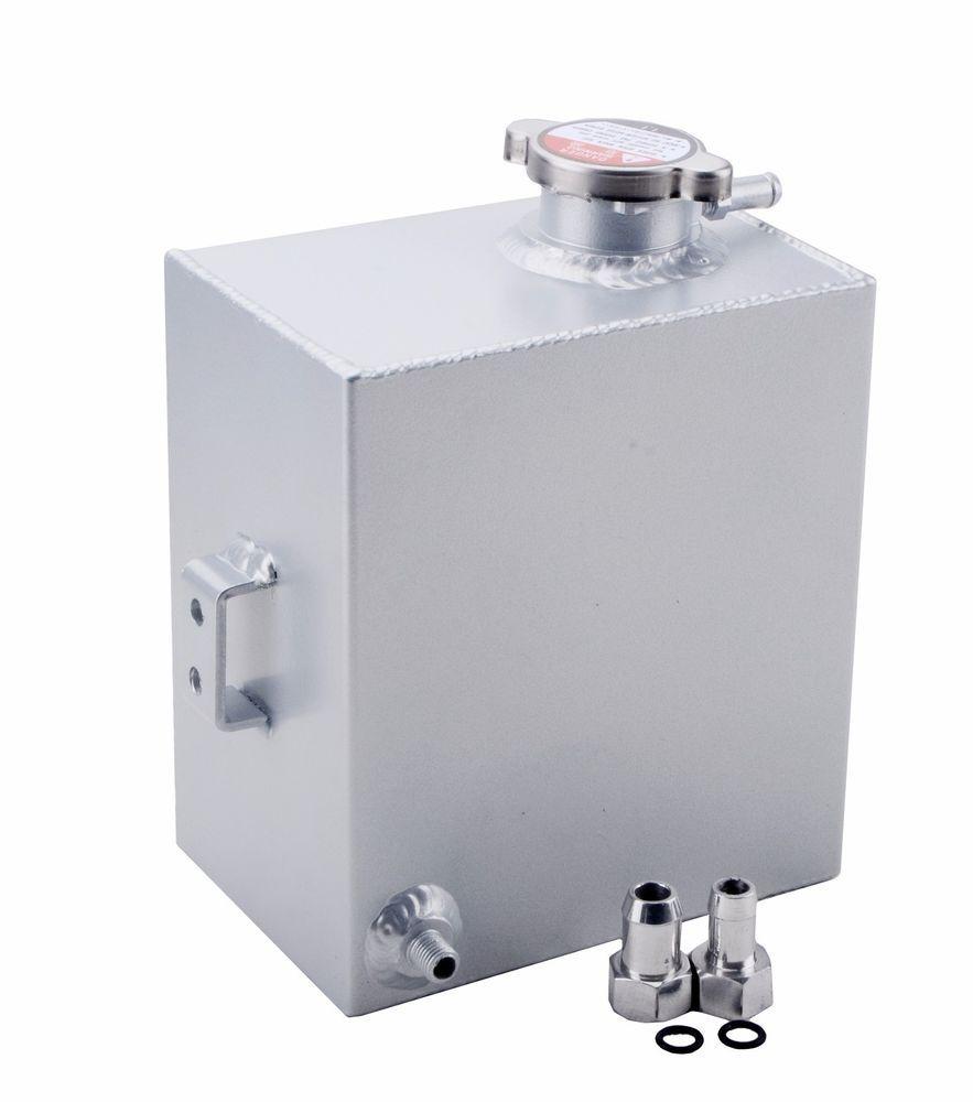 Universal Coolant Reservoir Aluminum Expansion Overflow Tank Bottle
