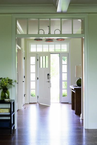 Boost Natural Light By Adding Transoms And Sidelights To