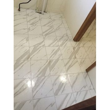 Msi Pietra Calacatta 12 X 12 Porcelain Field Tile In White Tile Floor Flooring Wall Tiles