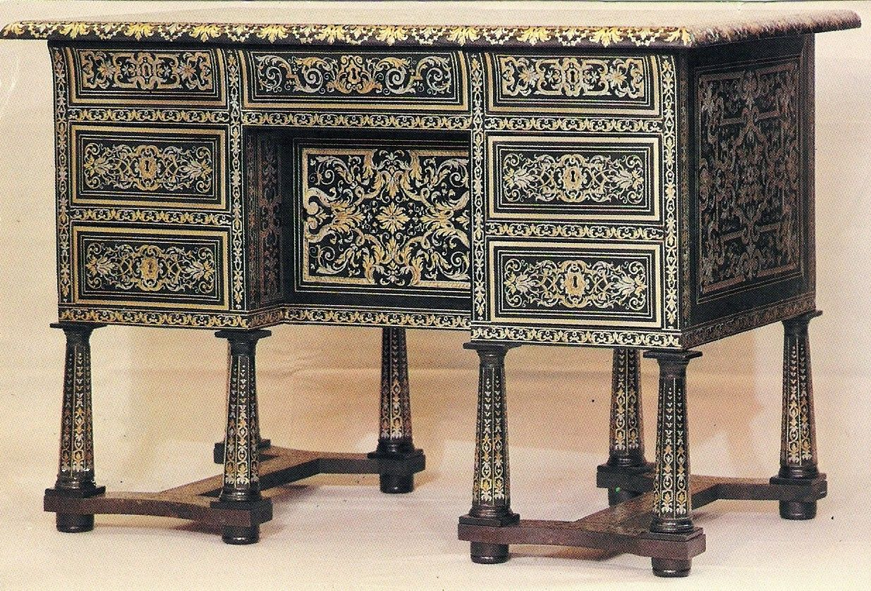 Restauration Meuble Antique Desk In The Style Of Andre Charles Boulle Andre
