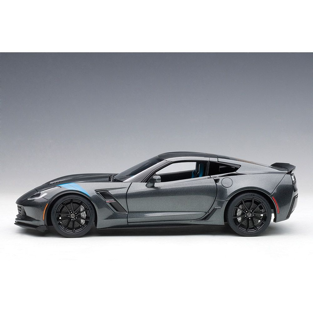 Grand Sport C7 Watkins Glen Gray Diecast Model Corvette