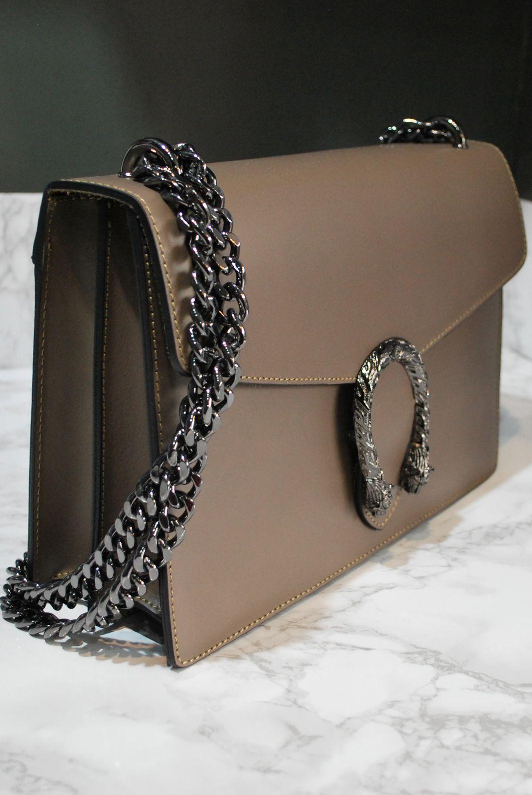 87b20e49a48b Snake Clasp Bag Grey   LAGOM loves handbags   Bags, Fashion ...