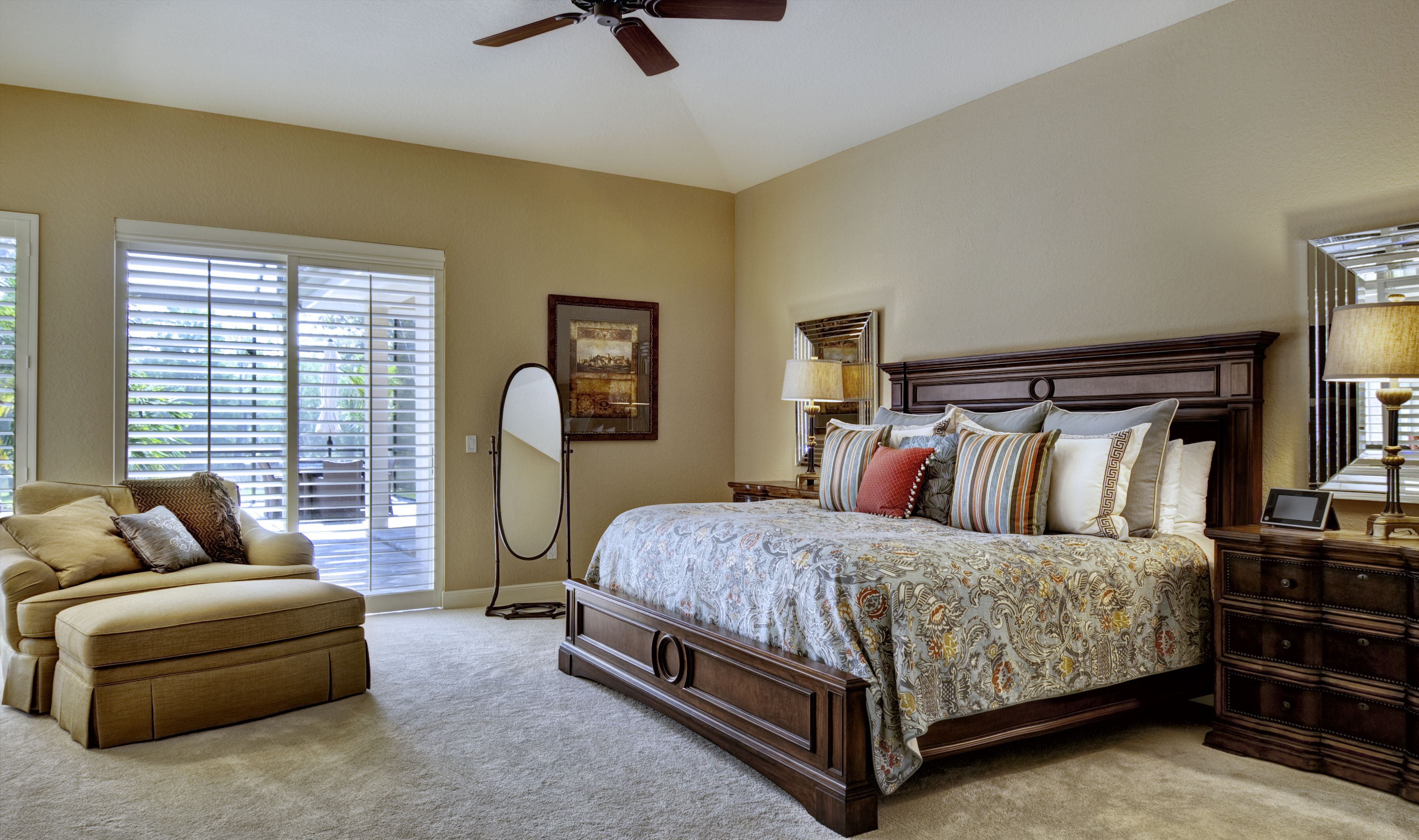 Master Bedroom interior design by Southern Showcase ...