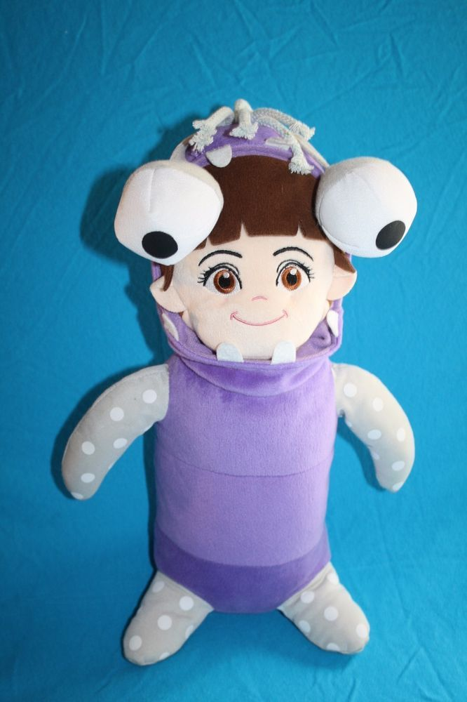 Disney Monsters Inc 15 Purple Plush Baby Boo Dressed As Monster
