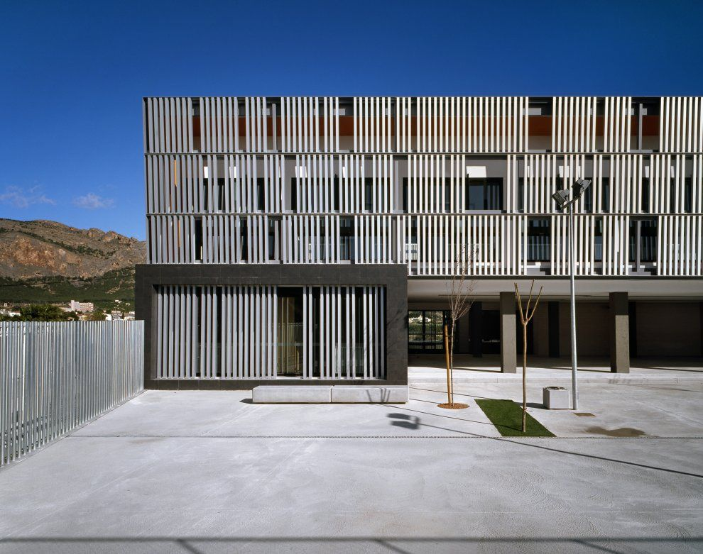 CEIP Raiguero de Bonanza Orihuela (Alicante), Spain by: Macla Arquitectos SLP  photo: Diego Opazo - Architizer