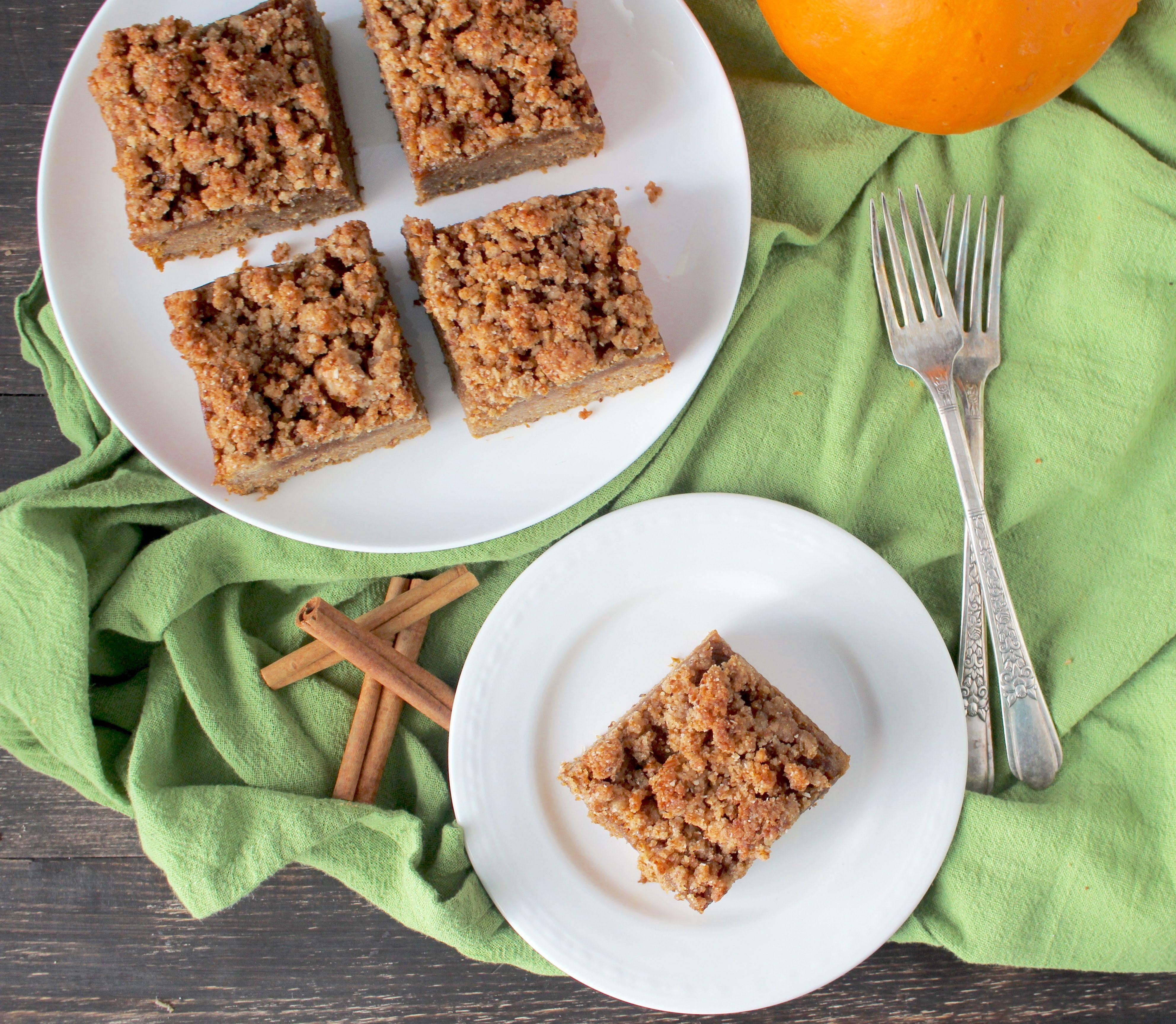 Paleo Pumpkin Coffee Cake Recipe Pumpkin coffee cakes