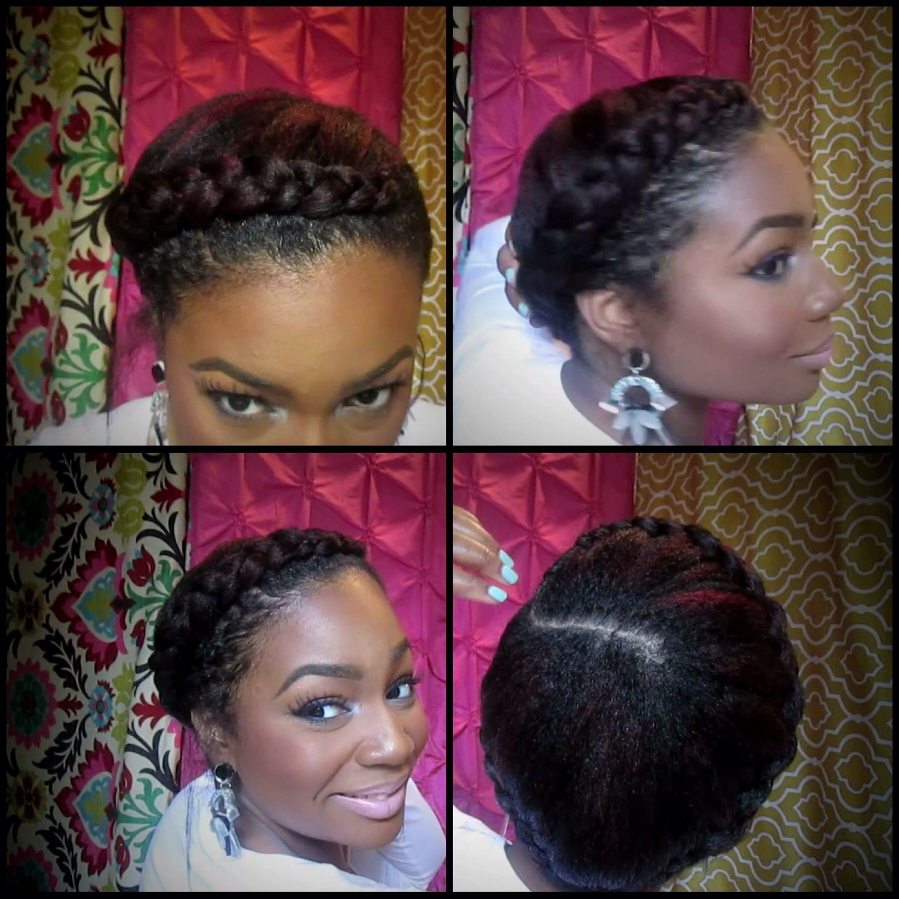 goddess braid. one of my favorite youtube channels for