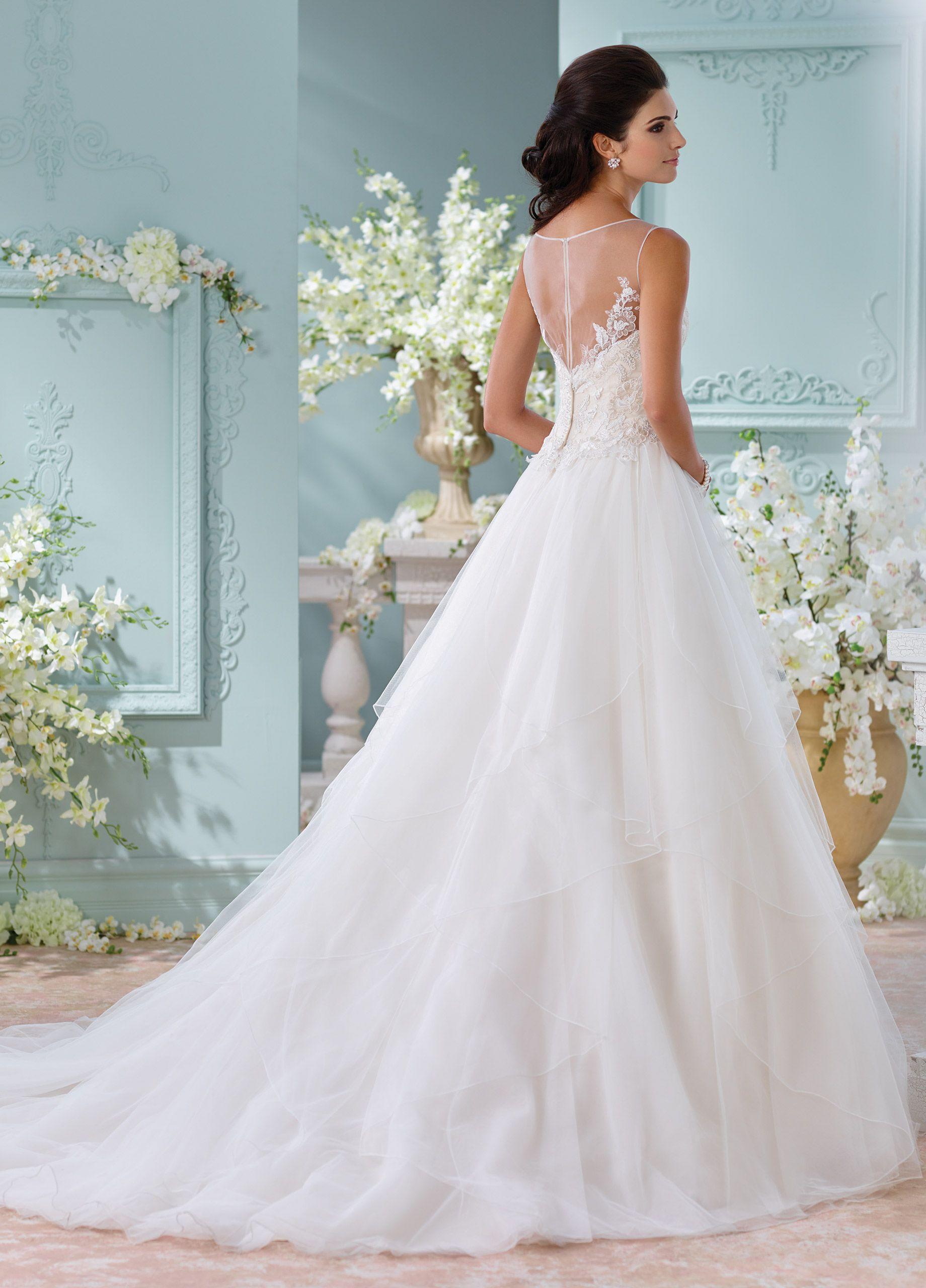 Unique Wedding Dresses Spring 2018 - Martin Thornburg | Bateau ...