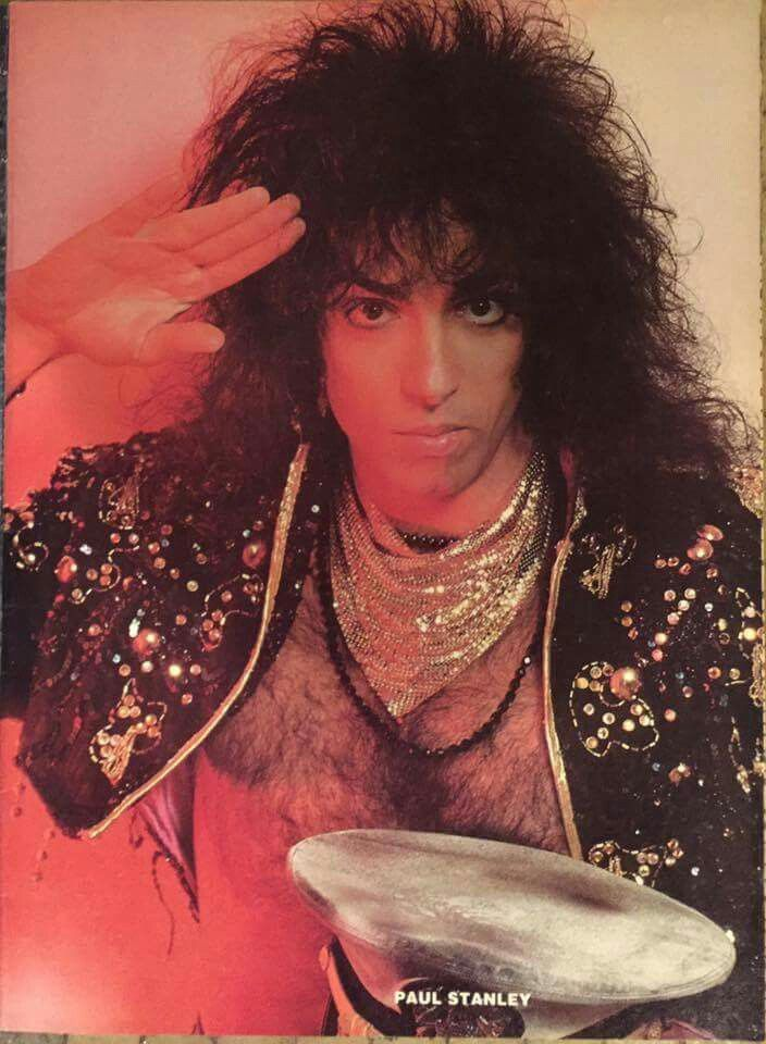 Pin By Connie Clark On Paul Stanley Paul Stanley Kiss Without