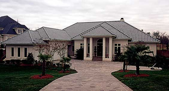 Mediterranean   House Plan 85552