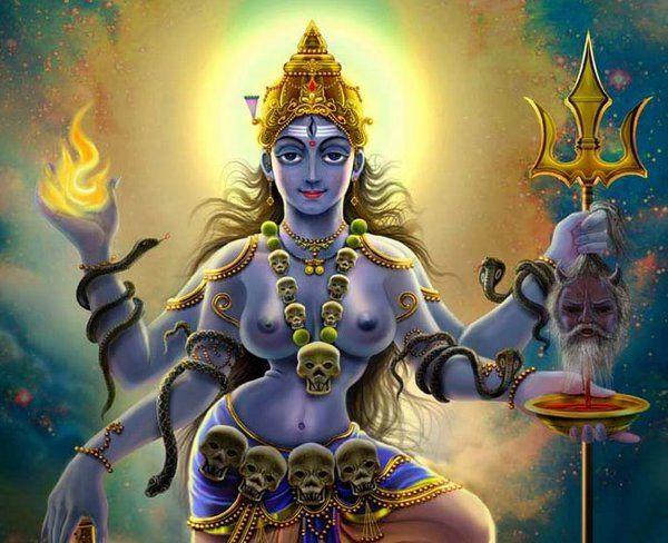 Indian goddess nude