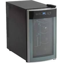 Joe Wants This For Xmas Eclectic Decor Thermoelectric Wine Cooler Curved Glass