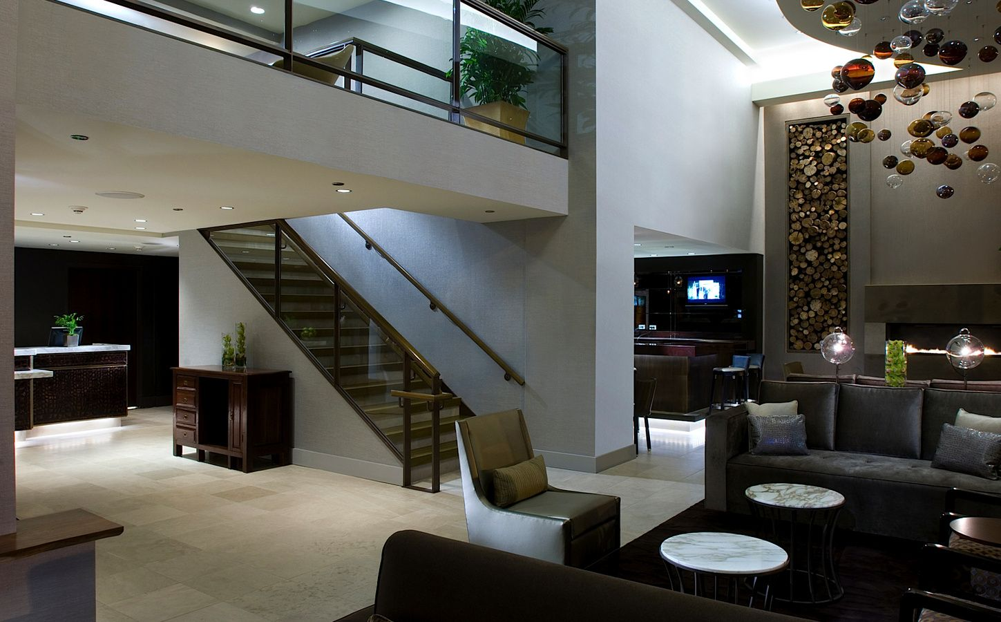 Boutique Hotel Lobby At Hotel Felix Chicago Gscertified Green