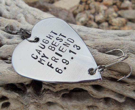 Caught My Best Friend Gifts For Friends By CandTCustomLures 1900