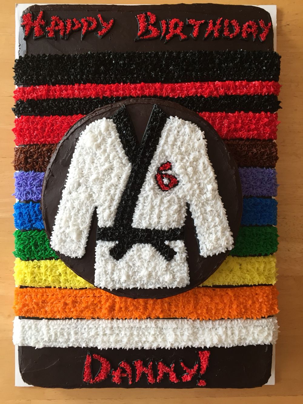 Taekwondo kuchen pinterest geschenkideen kuchen und geschenkideen kinder - Tortendeko kinder ...