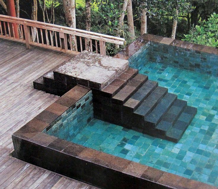 Hijau stone pool LifeStyle Pinterest Piscinas, Albercas y Casas