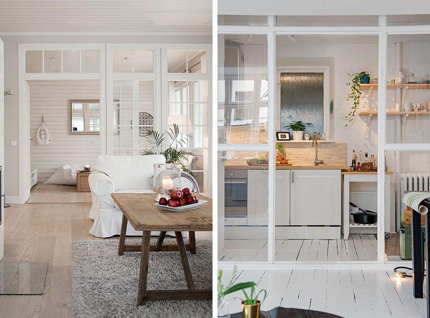 Cerramientos interiores de cristal para dividir espacios for Cerramientos de interiores