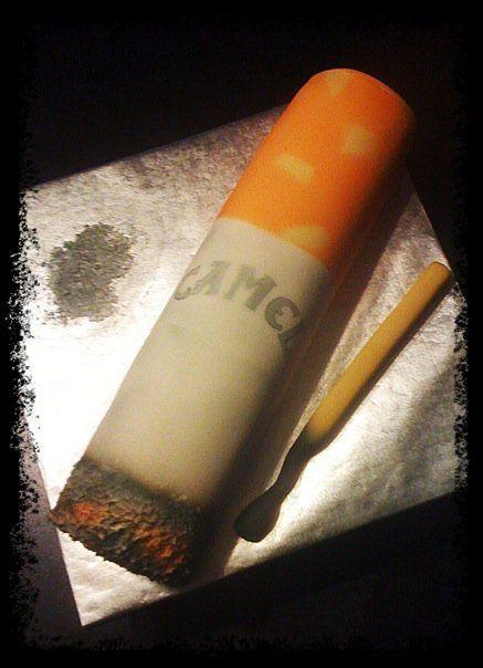 Cigarette cake  www.yesitsacake.com
