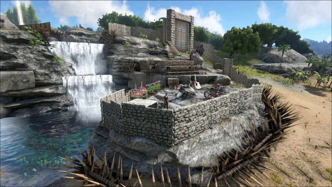 Ark Island Best Place For Tek Base