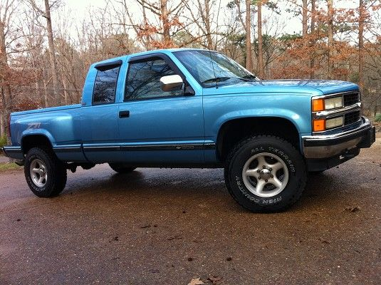 1994 chevy silverado step side ext cab my classic cars. Black Bedroom Furniture Sets. Home Design Ideas