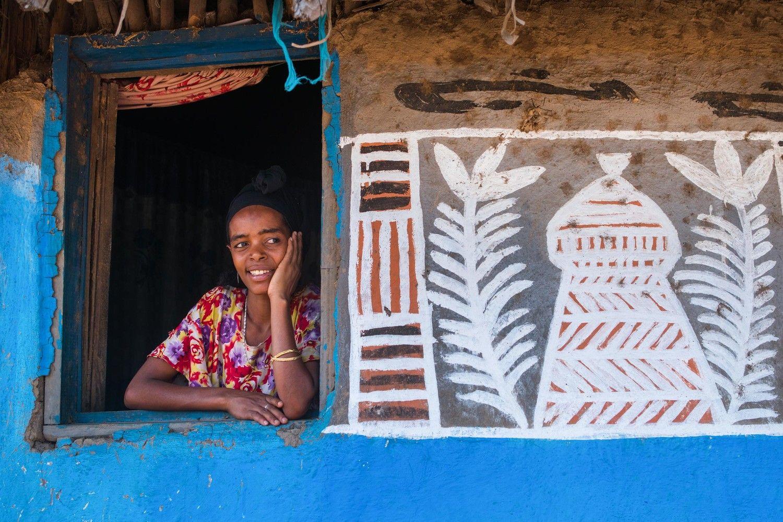 Bill gates house tour pictures of ethiopia
