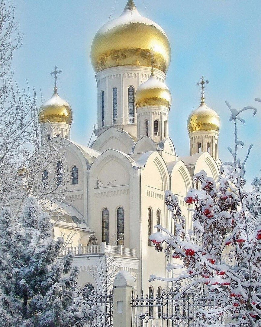 красивые фотографии русские церкви этой