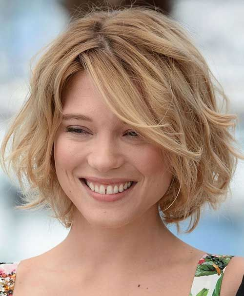 Ondulada Short Bob Con Side Swept Bangs
