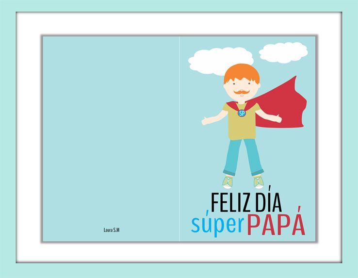 Etiquetas Y Tarjetas Para El Día Del Padre Tarjetas Dia