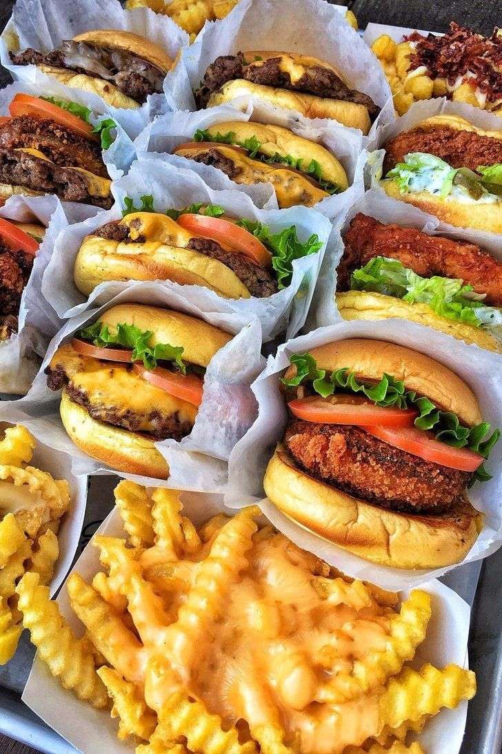 The 25 Most Popular American Restaurants On Instagram In 2016 American Fast Food Food Food Goals