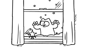 Simon's Cat - Santa Claws - just in time for Christmas!!