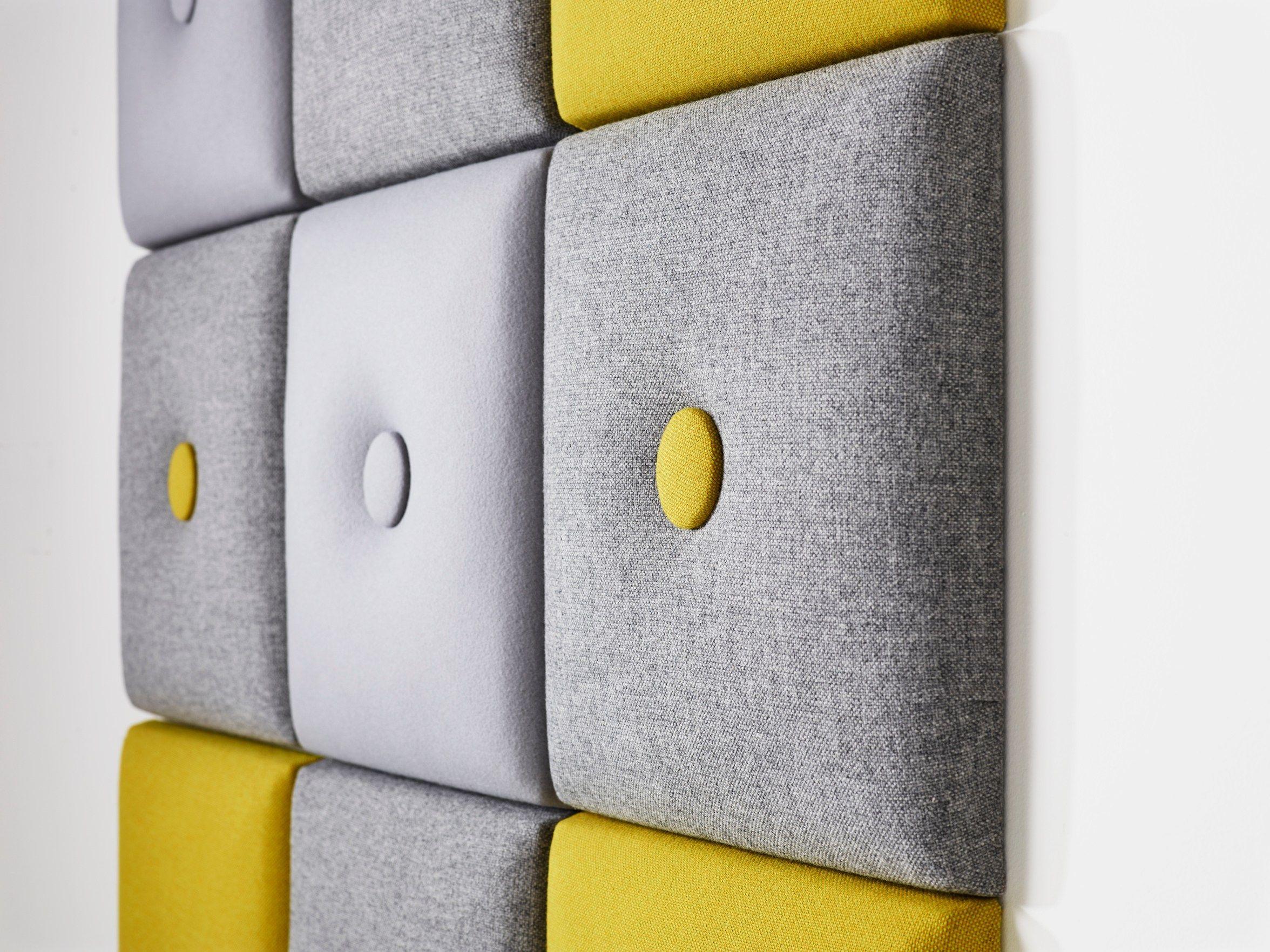 Recycled Material Decorative Acoustical Panels Pillow By Karl Andersson Soner Design Joel Karlsson Schallabsorber Akustik Akustik Panel