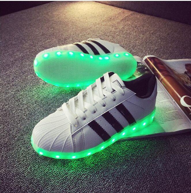 adidas superstar light up shoes