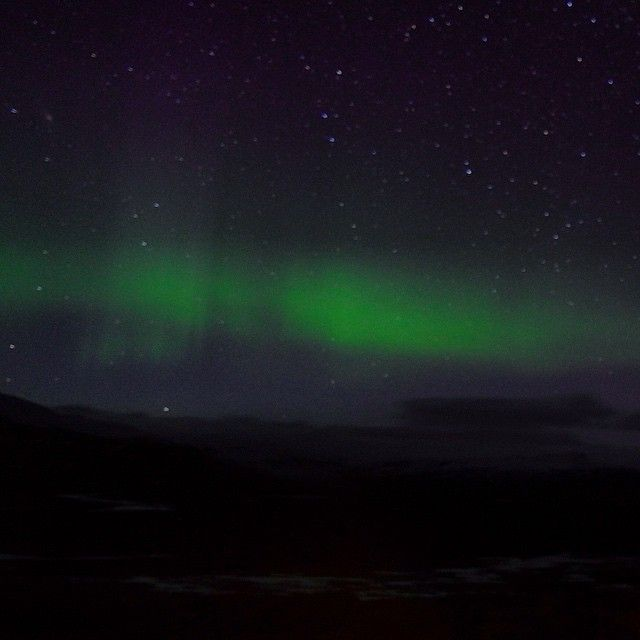 """From the set of the new Moncler Fall-Winter 2015 campaign in Iceland: the magnificent Aurora Borealis #moncler #fw15"""