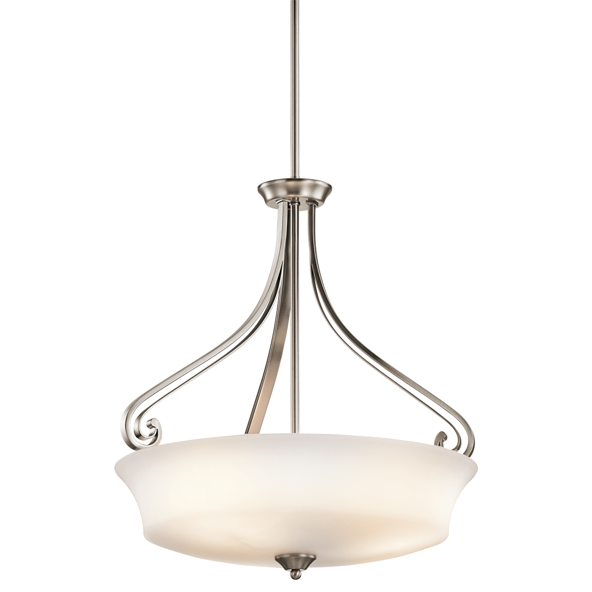 Foyer Replacement Light Inverted Pendant 3lt Clp