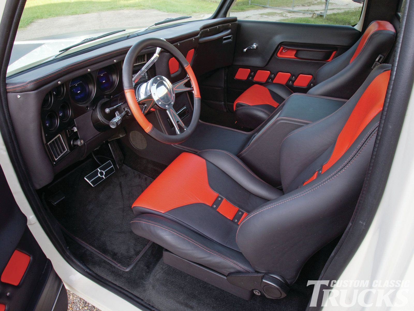 Check out this 1977 chevrolet c10 that has a chevy 454 for C10 interior ideas