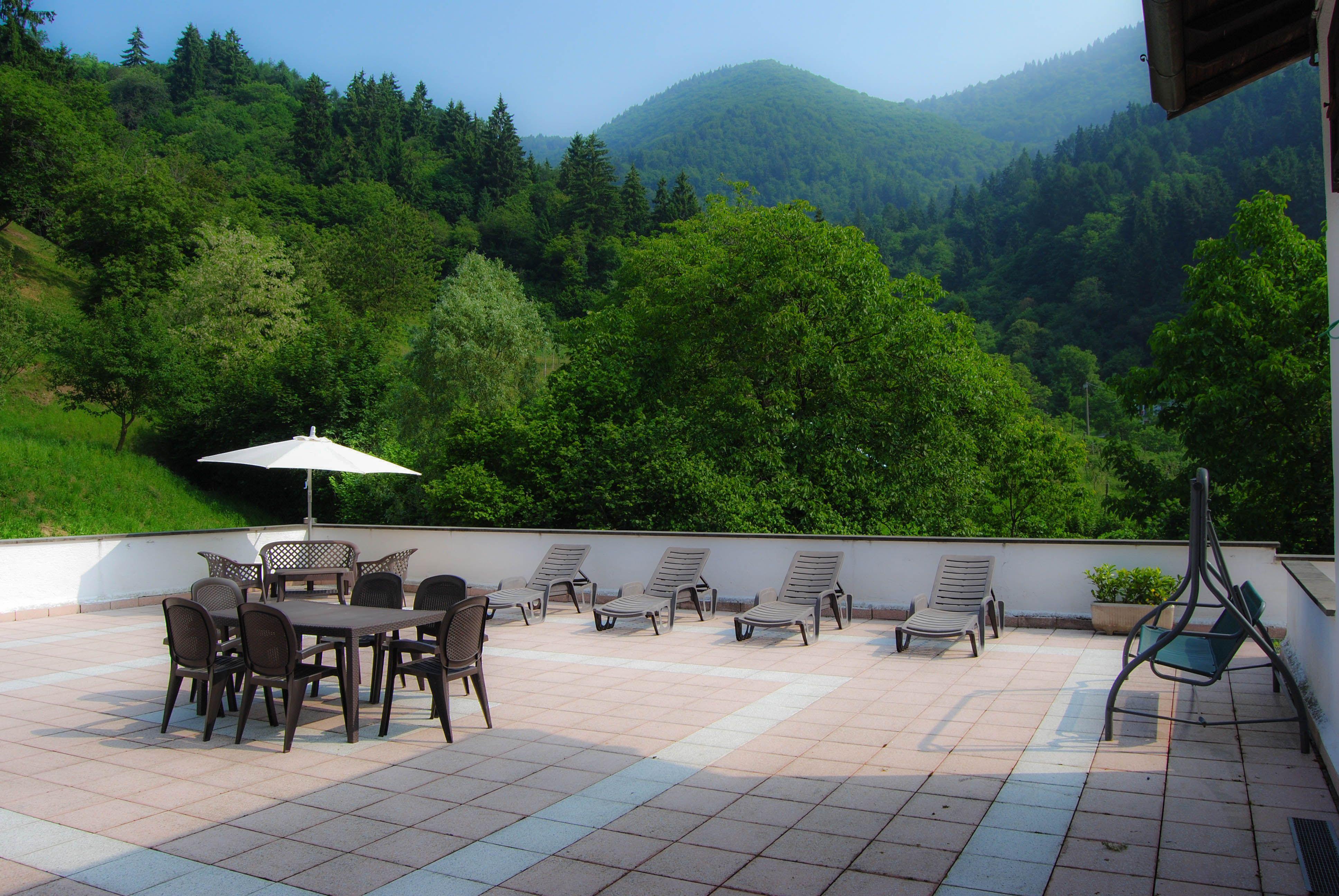 Panoramica Terrazza - Hotel Conca Verde a Zone (BS) | Hotels, B&B ...