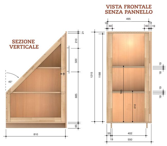 Come Realizzare Un Armadio A Muro Fai Da Te.Come Costruire Un Armadio Angolare Armadio Angolare Costruire